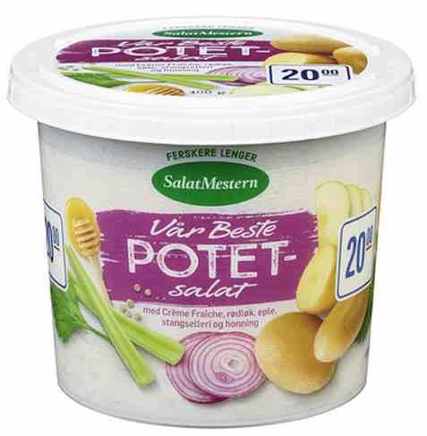 Bilde av Salatmesteren vår beste potetsalat 400g.