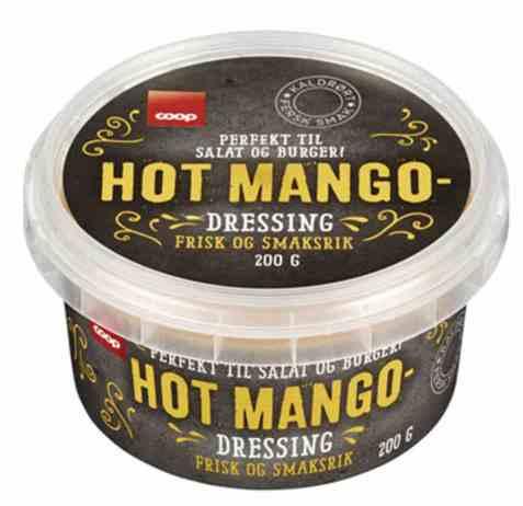 Bilde av Coop hot mango dressing 200g.