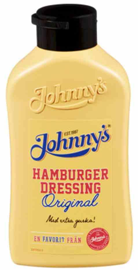 Bilde av Kavli Johnnys hamburgerdressing.