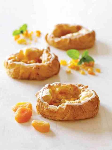 Bilde av Bakehuset wienerbrød aprikos 105gr.
