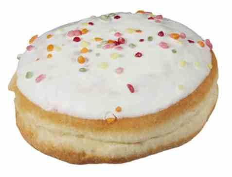 Bilde av Bakehuset Donut Ball Vanilje og Vaniljekrem.