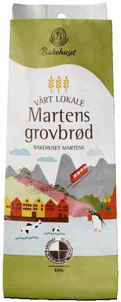 Bilde av Bakehuset martens grovbrød.