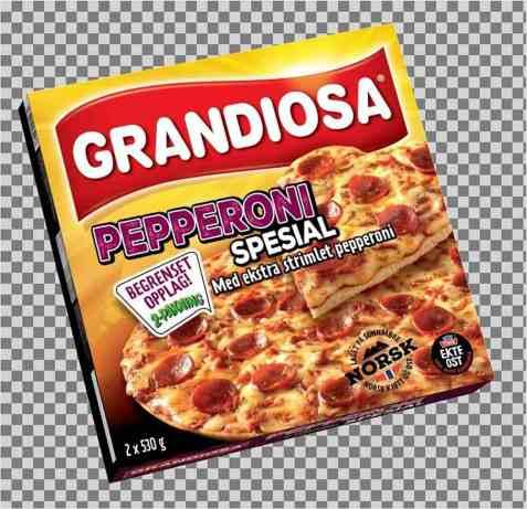 Bilde av Grandiosa Pepperoni Spesial 2pk.