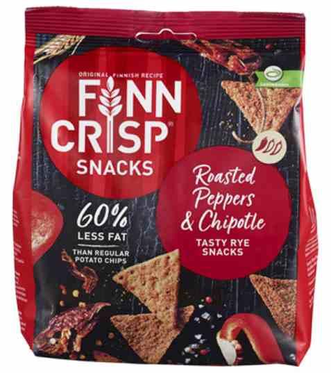 Bilde av Finn Crisp Knekkebrød Rye Snacks roasted peppers and chipotle.