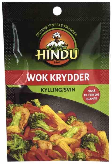 Bilde av Hindu wok krydder svin-kylling pose.
