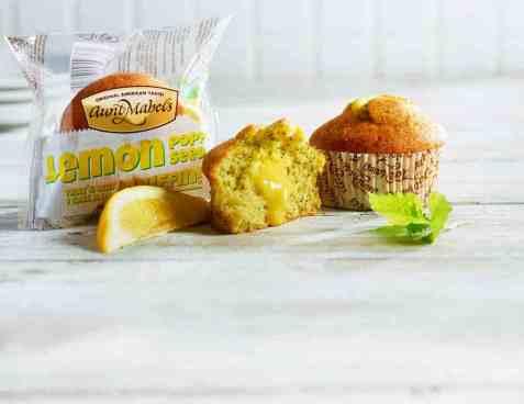 Bilde av Aunt Mabel Lemon poppy seed muffin 100gr.