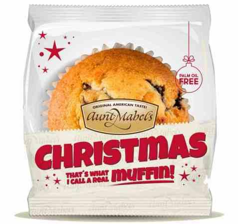 Bilde av Aunt Mabel christmas gingerbread muffins.