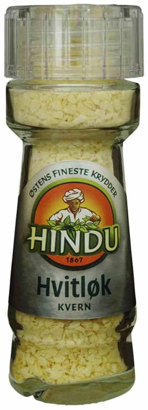 Bilde av Hindu hvitløk kvern glass.