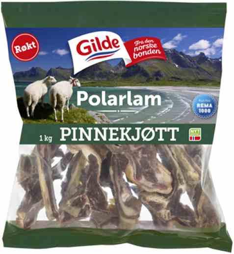 Bilde av Gilde Polarlam pinnekjøtt røkt.