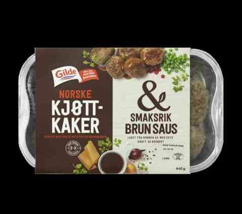 Bilde av Gilde Kjøttkaker & smaksrik brun saus.