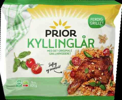 Bilde av Prior Grillede Kyllinglår 825gr.