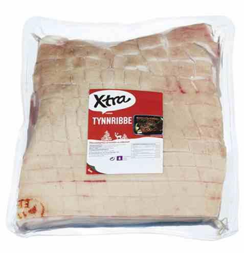 Bilde av Coop Xtra tynnribbe 2,9kg.