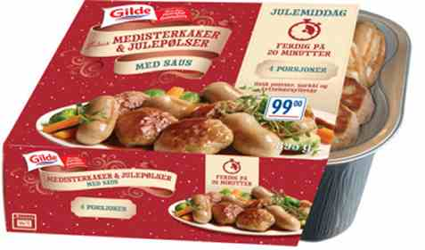 Bilde av Gilde medisterkaker og julepølse 895gr.