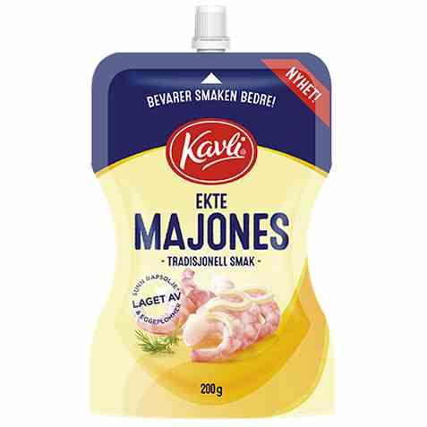 Bilde av Kavli ekte majones.