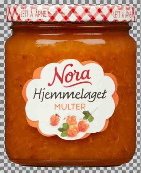 Bilde av Nora hjemmelaget Multesyltetøy 300gr.