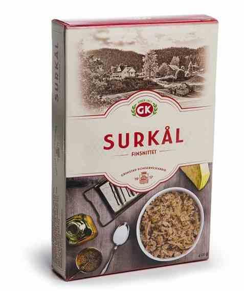 Bilde av Grimstad finkuttet surkål 450gr.