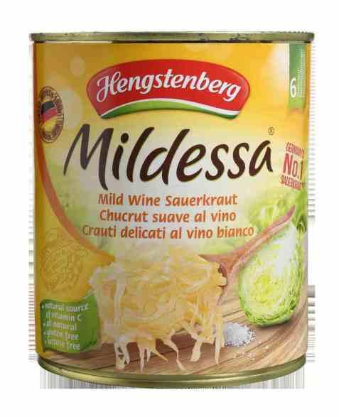 Bilde av Hengstenberg sauerkraut mildessa 810gr.