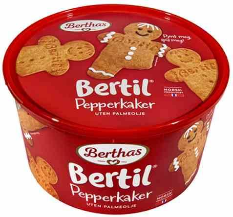 Bilde av Berthas pepperkaker bertil 375gr.