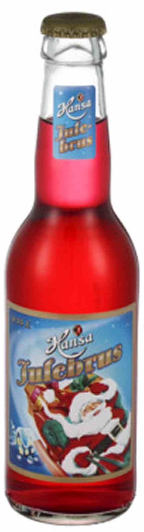 Bilde av Hansa julebrus 0,33l flaske.