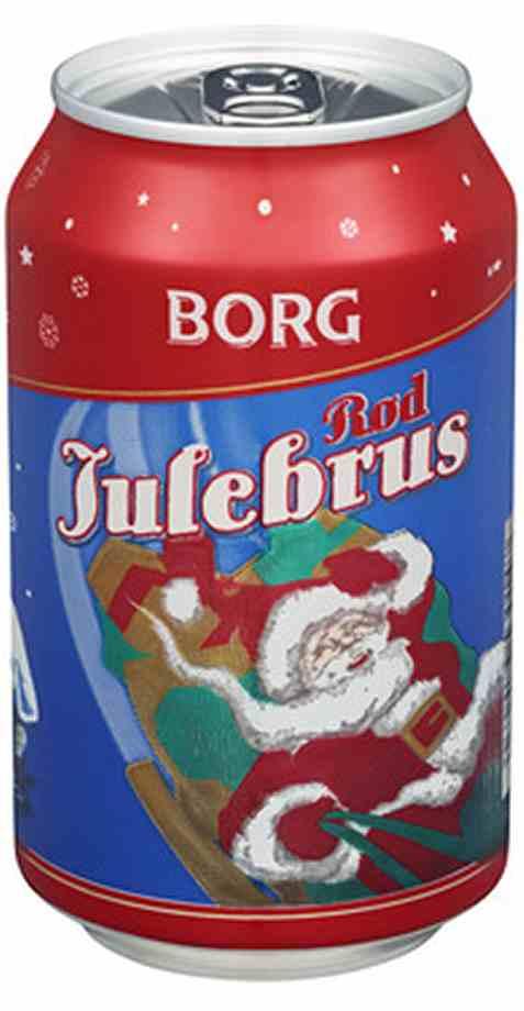 Bilde av Borg Julebrus Rød 0.33l.