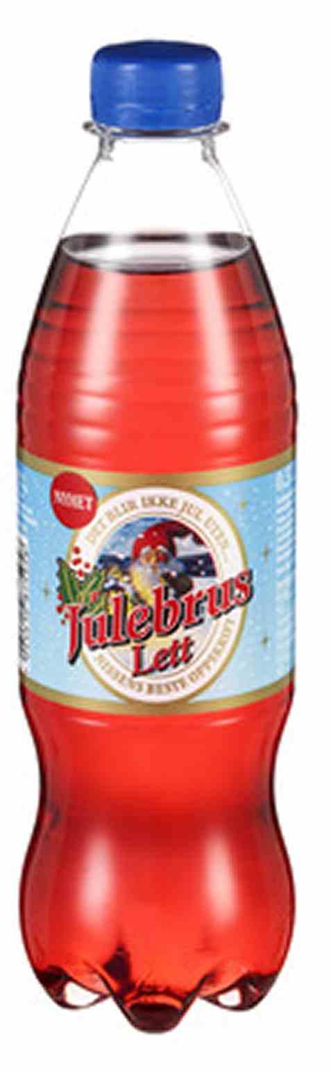 Bilde av Ringnes Julebrus lett 0,50 liter.