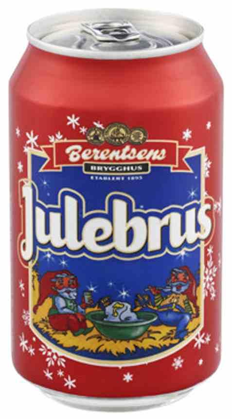 Bilde av Berentsens Julebrus rød 0.33l.