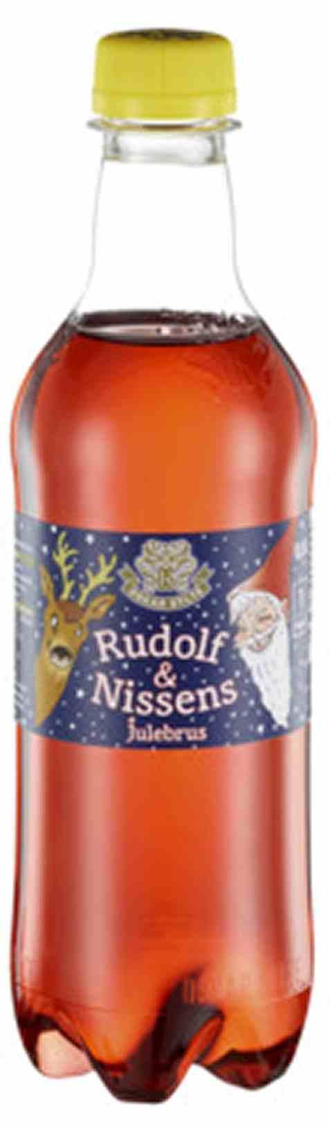 Bilde av Oskar Sylte Rudolf og Nissens Julebrus 0,5l.