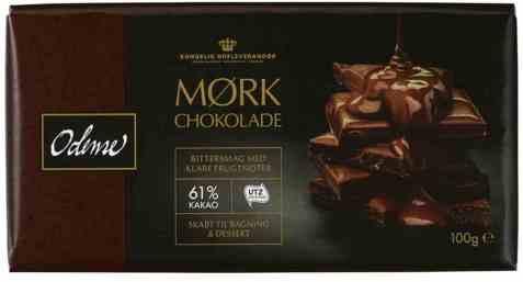Bilde av Odense bakesjokolade mørk 100gr.