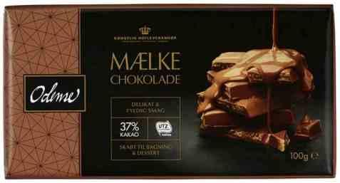 Bilde av Odense melkesjokolade 100gr.