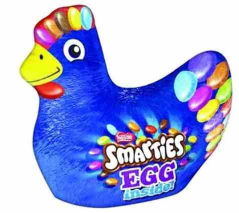 Bilde av Nestle smarties påskekylling 110gr.