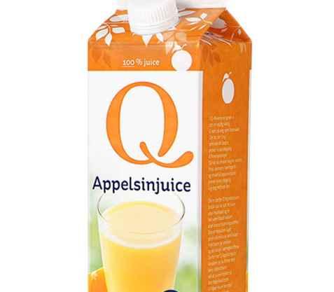 Bilde av Q appelsinjuice.