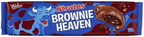 Bilde av Nidar Stratos brownie heaven storplate 188gr.