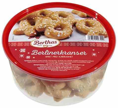 Bilde av Berthas Berlinerkranser 275gr.