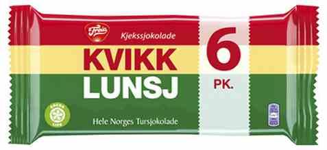 Bilde av Freia Kvikk Lunsj 6 pk.