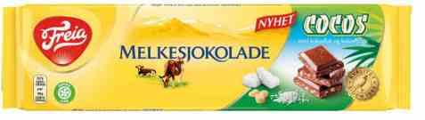 Bilde av Freia Melkesjokolade med cocos 190gr.