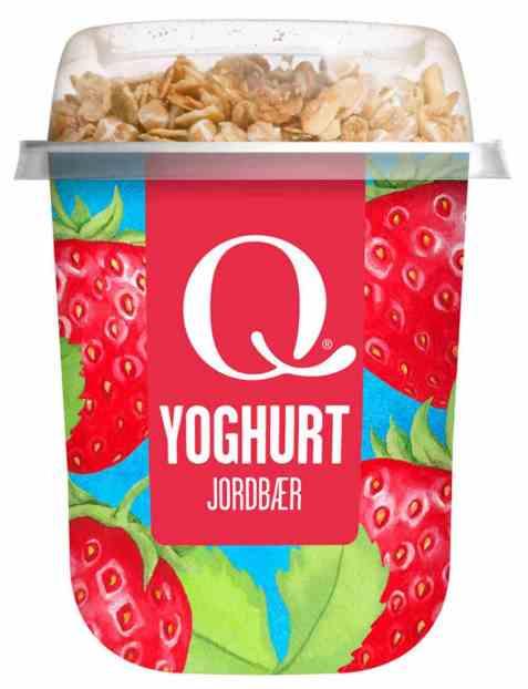 Bilde av Q yoghurt m/musli jordbær.