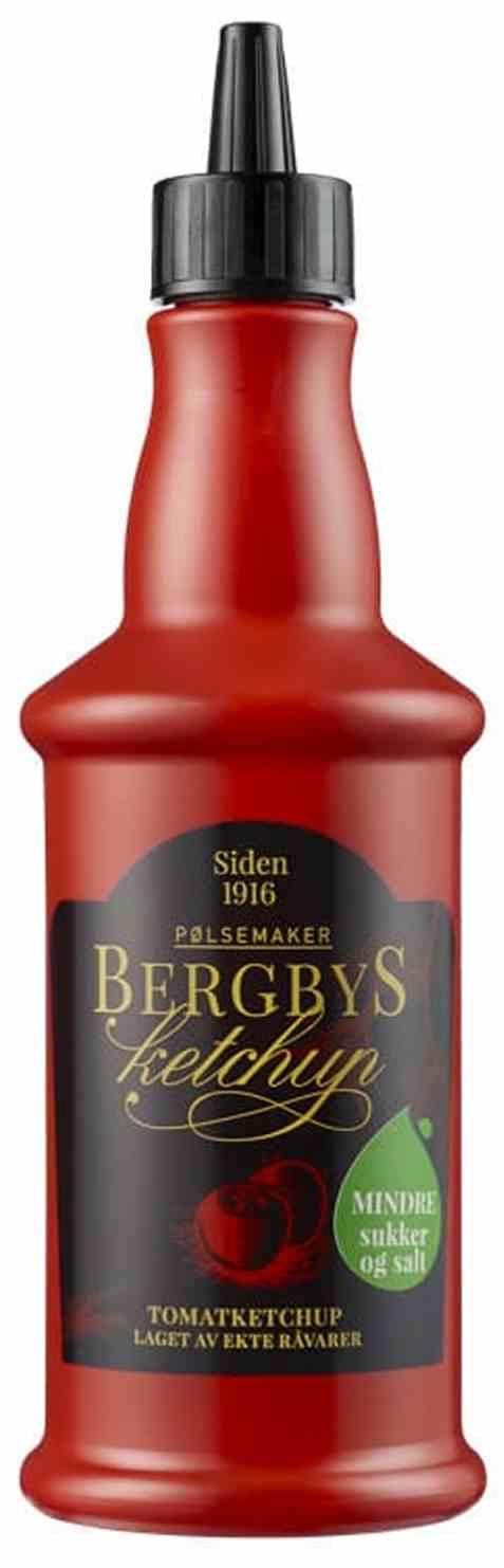 Bilde av Bergbys ketchup 510gr.