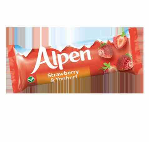 Bilde av Weetabix alpen Strawberry & Yogurt Bar.