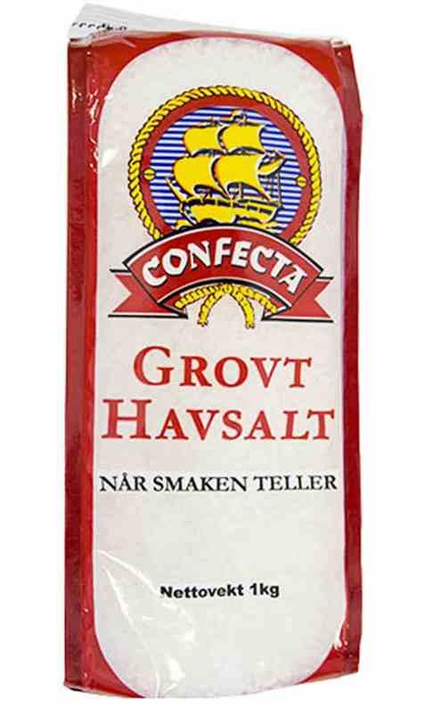 Bilde av Confecta Havsalt - grovt 1kg.
