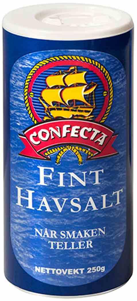 Bilde av Confecta Havsalt - fint 250gr.