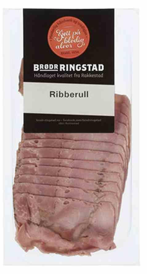 Bilde av Brødrene Ringstad Ribberull Skåret 100g.