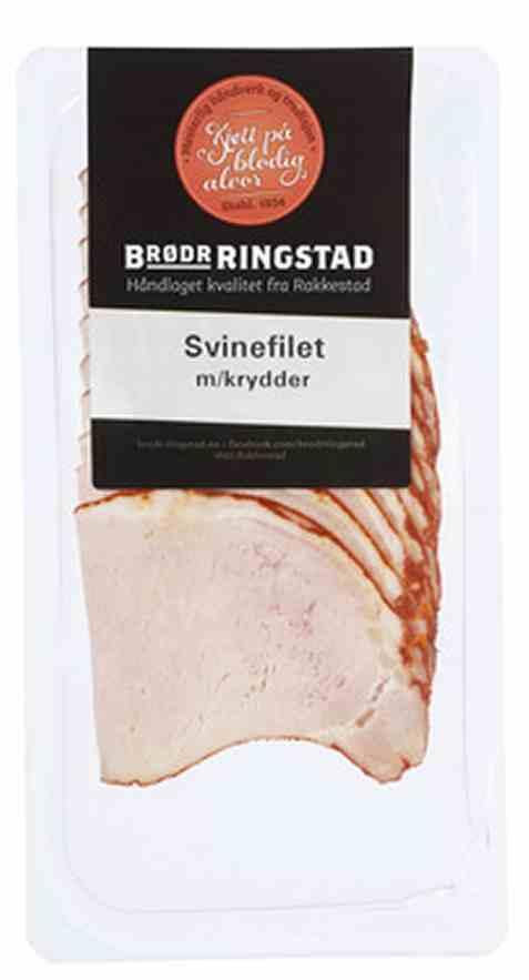 Bilde av Brødrene Ringstad Svinefilet m/Krydder 100g.