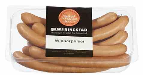 Bilde av Brødrene Ringstad Wienerpølser 680g.