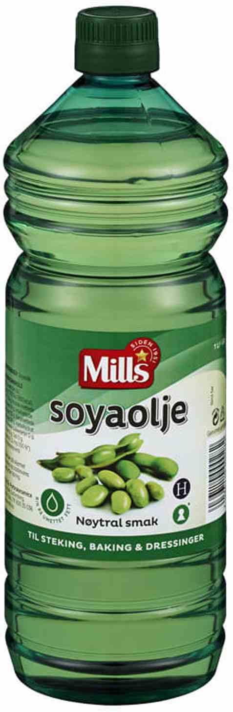 Bilde av Mills soyaolje 1liter.