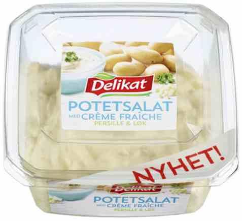 Bilde av Delikat potetsalat creme fraiche persille og løk 300gr.