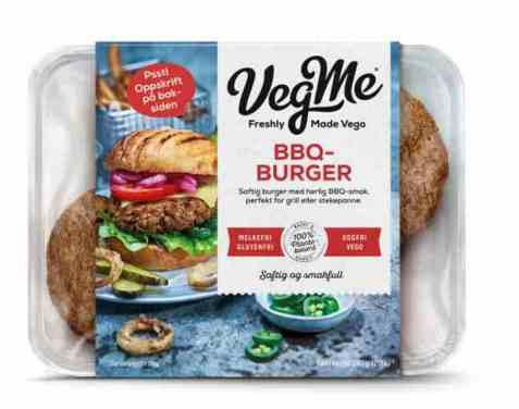 Bilde av Vegme Bbq-burger 240g.