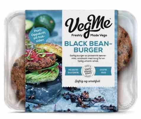 Bilde av Vegme Black Bean-burger 240g.