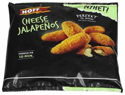 Bilde av Hoff cheese jalapenos 250gr.