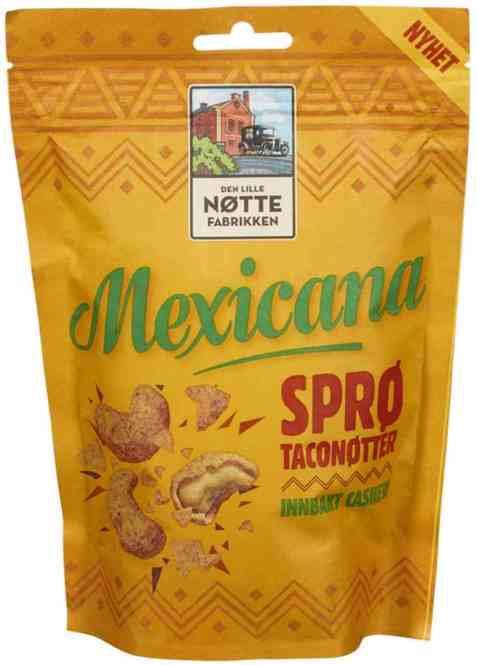 Bilde av Den Lille Nøttefabrikken cashew mexicana 160gr.
