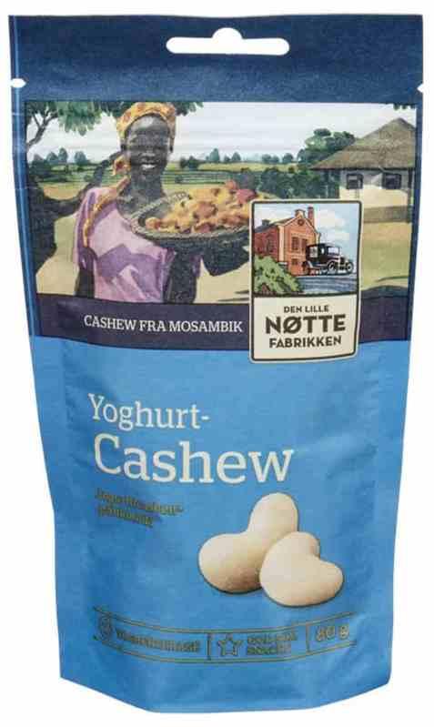 Bilde av Den Lille Nøttefabrikken Yoghurt cashew 80gr.